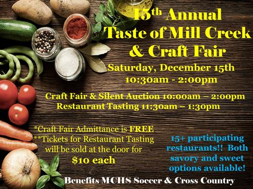 15th Annual Taste of Mill Creek