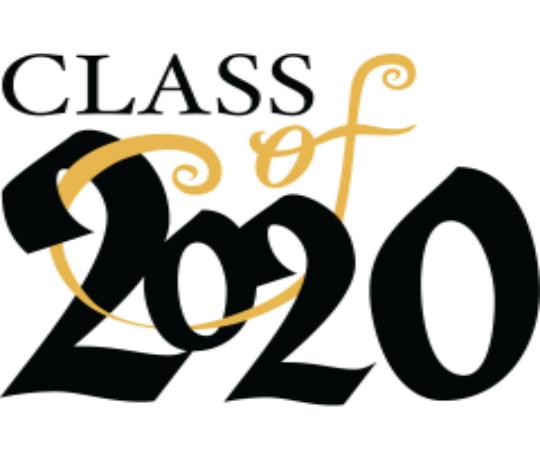 Senior class of 2020 graphic