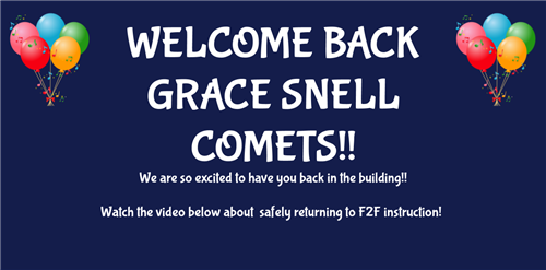 Welcome Back Grace Snell Comets