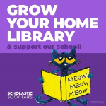Grow your home library & support our school!