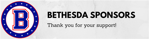 Bethesda Sponsor Thank you for your support