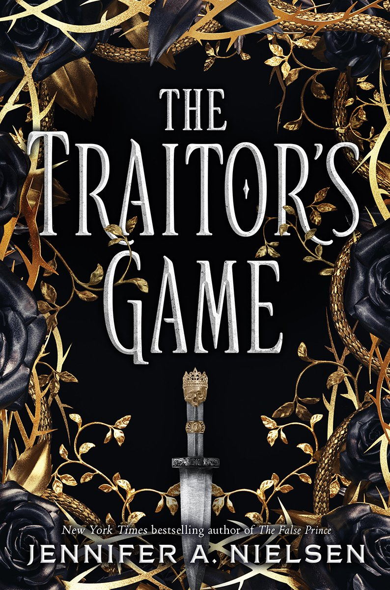 Traitor's Game Book Jacket