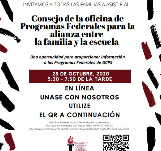 Federal Programs Family School Partnership Advisory Council Spanish Version