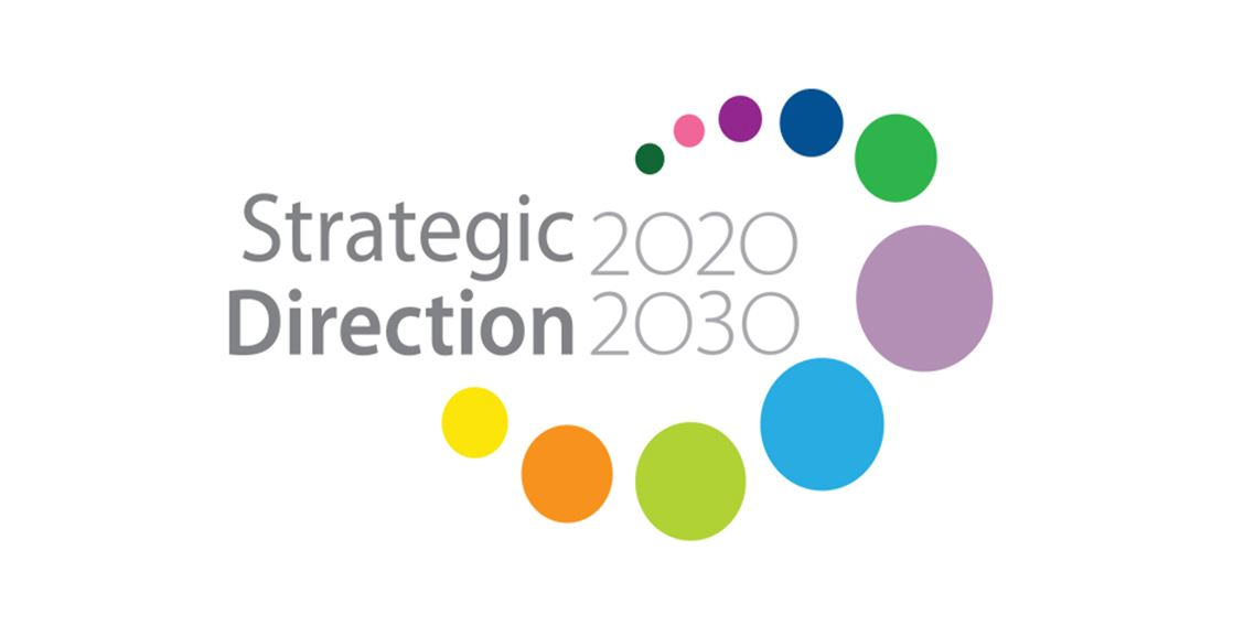 Strategic Direction 2020-2030 logo