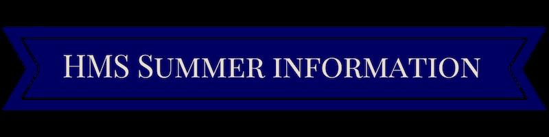 Summer Information / Summer Assignments