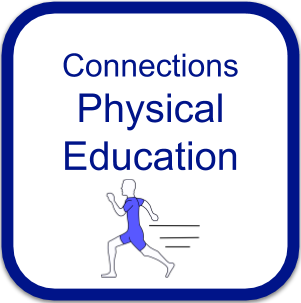 Physical Education Logo person running