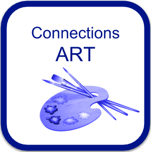 Art Connection Logo paint brush with palett