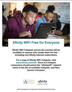 Xfinity Free WiFi Service