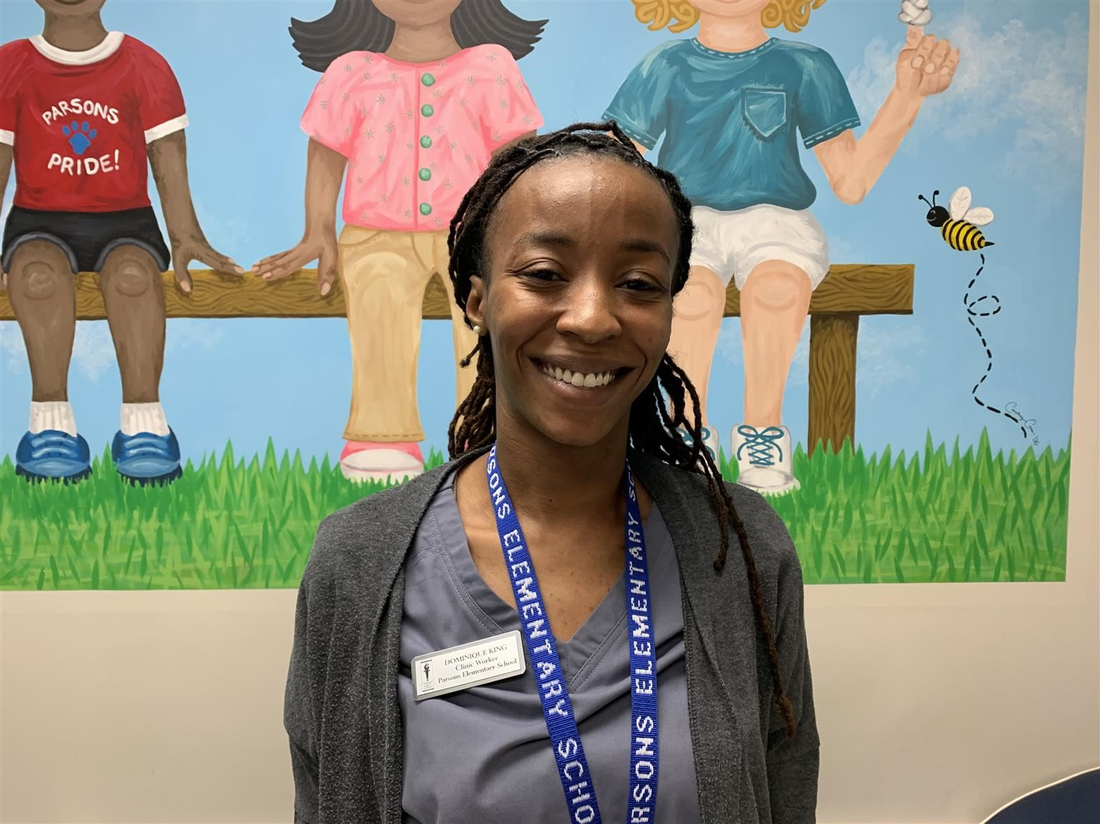 School Clinic Worker Dominique King