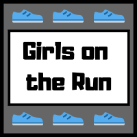 Girls on the Run image contains words with shoes
