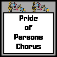 Pride of Parsons Chorus Image with music notes