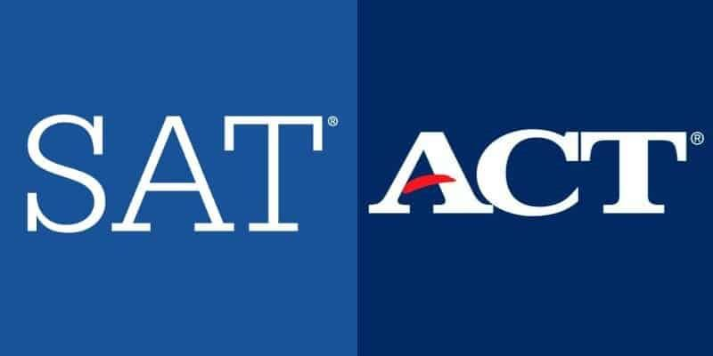SAT AND ACT LOGO
