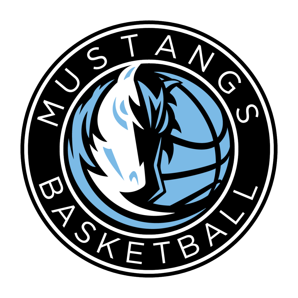 mustangs basketball logo