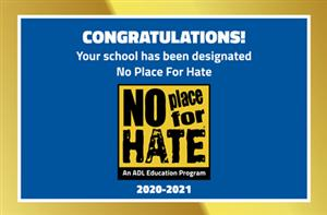 BLES is a designated No Place for Hate school