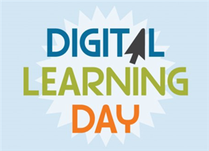 Picture that says Digital Learning Day