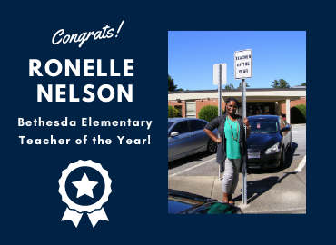 Bethesda's Teacher of the Year!