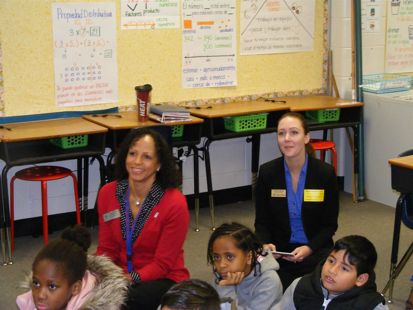Bethesda Elementary Principal for a Day