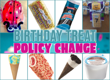Read about the changes in Brookwood Elementary's birthday treat policy...