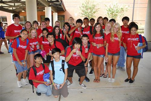 STUCO picture of students