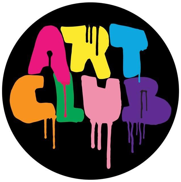 art club spray paint logo