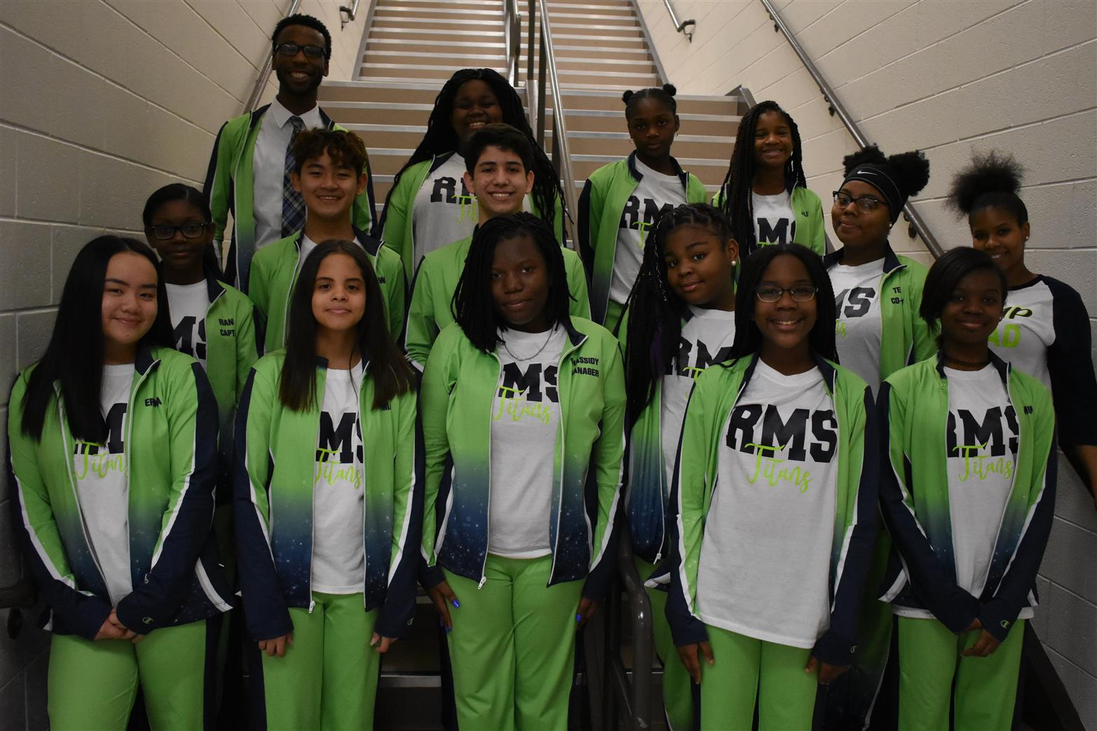 picture of rms step team