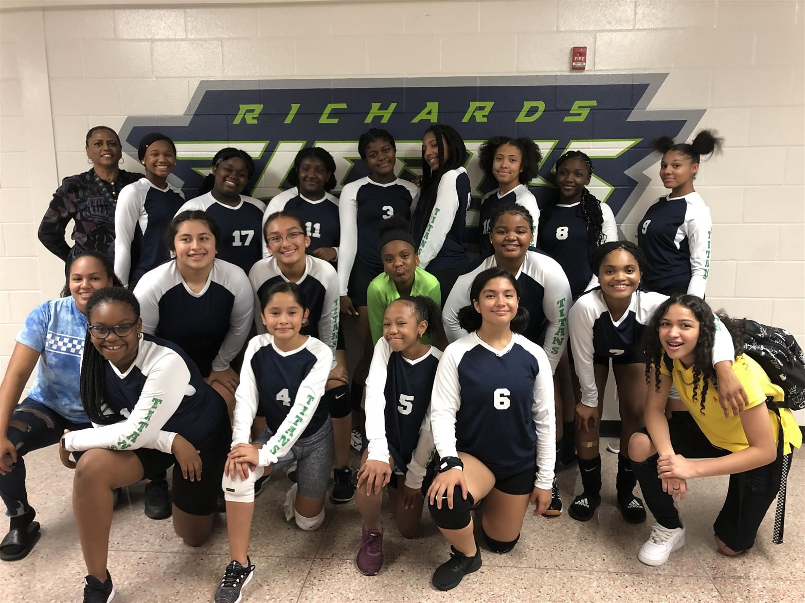RMS Girls Volleyball Team