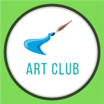 art club paint brush