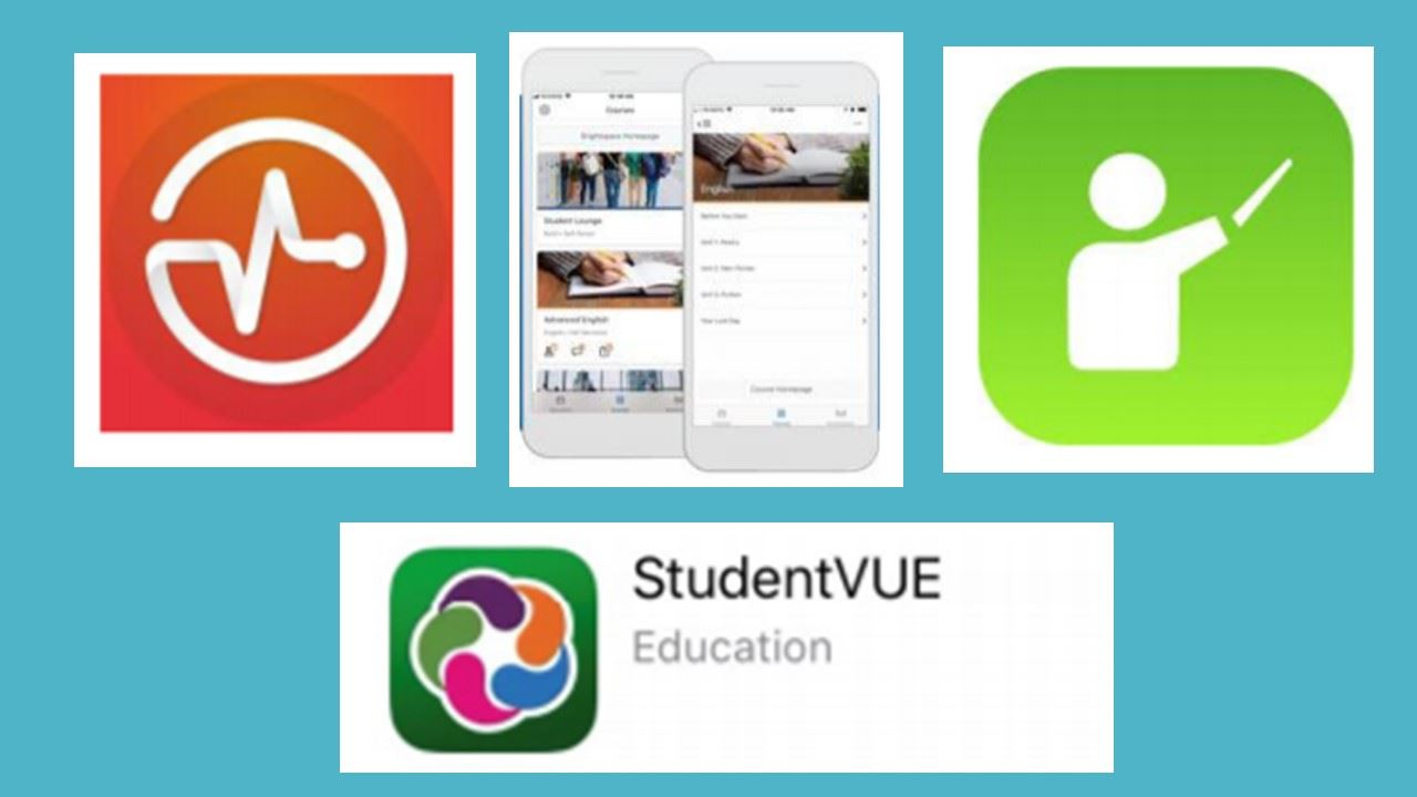 This image shows the new apps available for students.