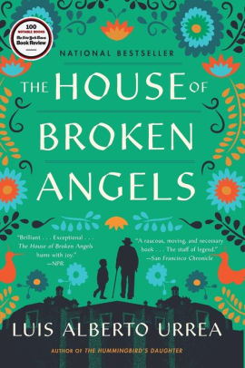 Book cover for House of Broken Angels