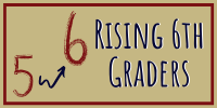 Rising 6th Grade information links
