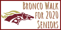 Bronco Walk for 2020 Seniors