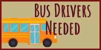 Bus Drivers Needed logo