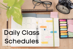 Daily Class Schedules
