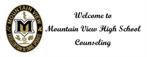 Welcome to Mountain View High School Counseling