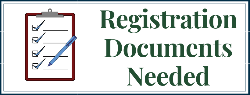 Registration Documents Needed