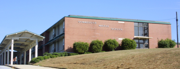 Old Summerour Middle School building