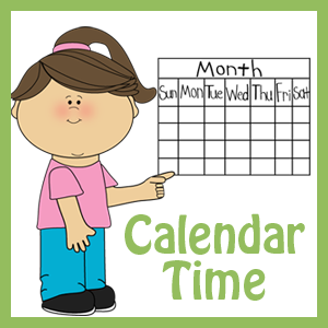Student pointing to calendar
