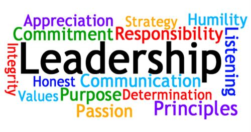 Bold leadership and other words