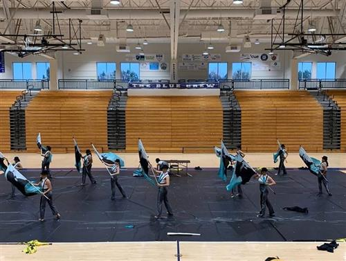 Winter Guard Welcome