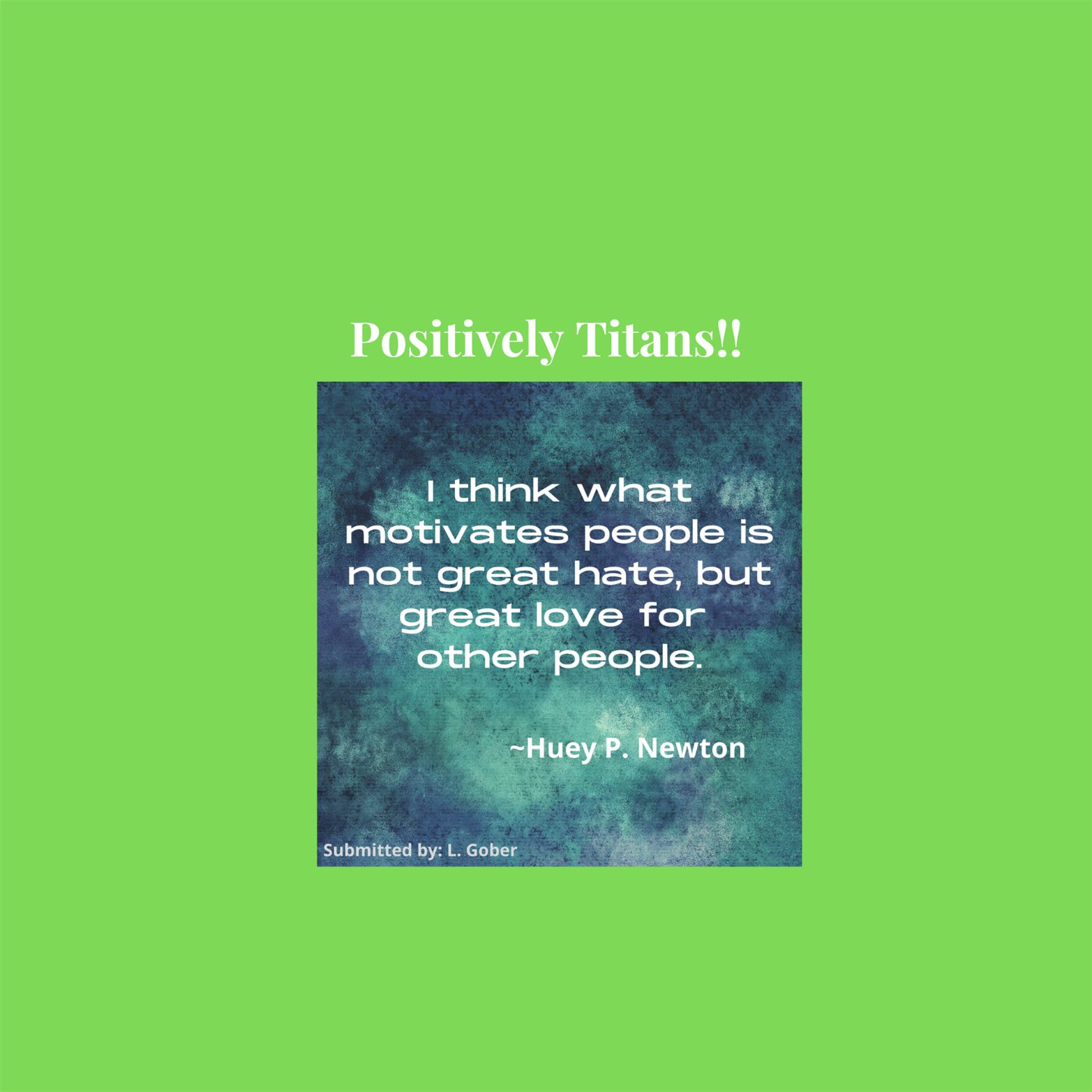 Positively Titans