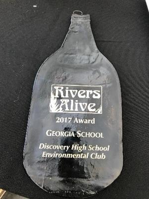 Award from Rivers Alive