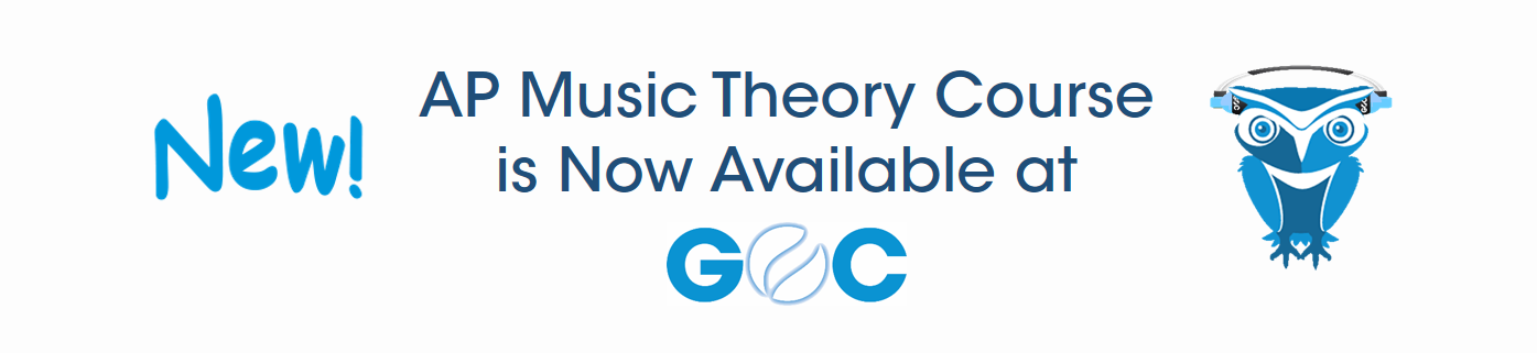 ap music theory now available at goc
