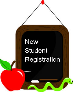 New Student Registration Clip Art