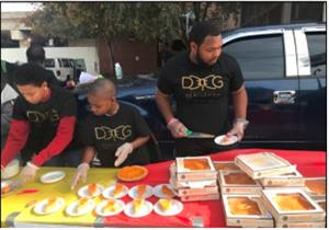 Thanksgiving Food Drive with DGL
