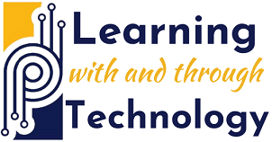 learning with and through technology logo