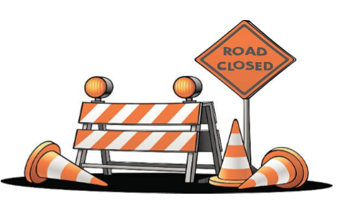 Pine Grove Avenue Detour, Feb. 10-14: A  portion of Pine Grove Avenue will be  closed for repairs from Feb. 10-14.  Use Britt Street to Trip Street to Pine Grove Avenue during this time.