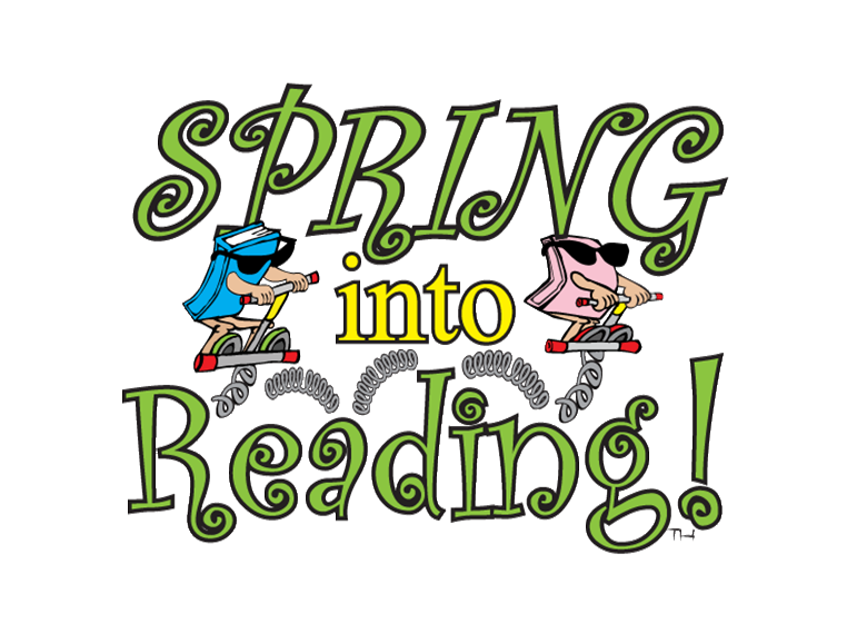 """Spring Into Reading"" (for 5th Graders) continues through April 30!  Find book genres and online form to log books on our eCLASS landing page!"
