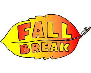Fall Break for Students: Oct. 10-11 & Oct. 14
