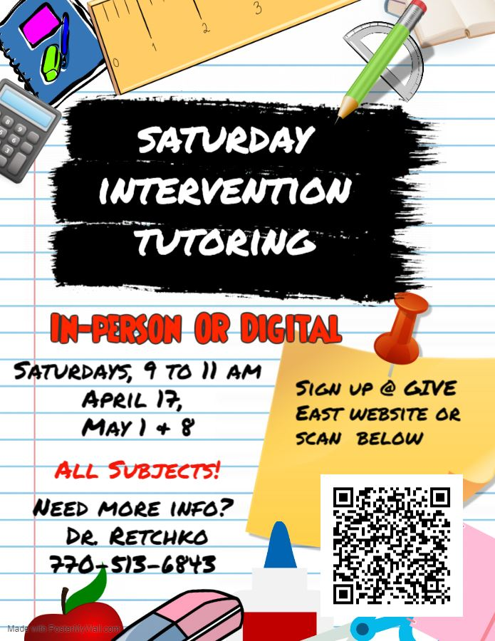 Saturday Intervention Registration Link