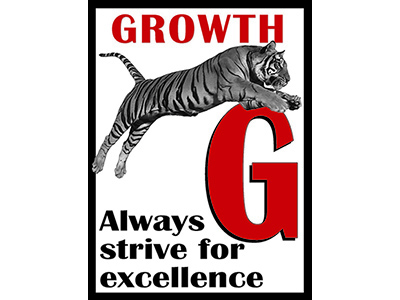 G is for growth tiger